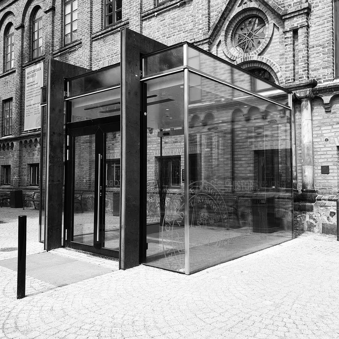 New entré till historiska muséet i Lund (by others