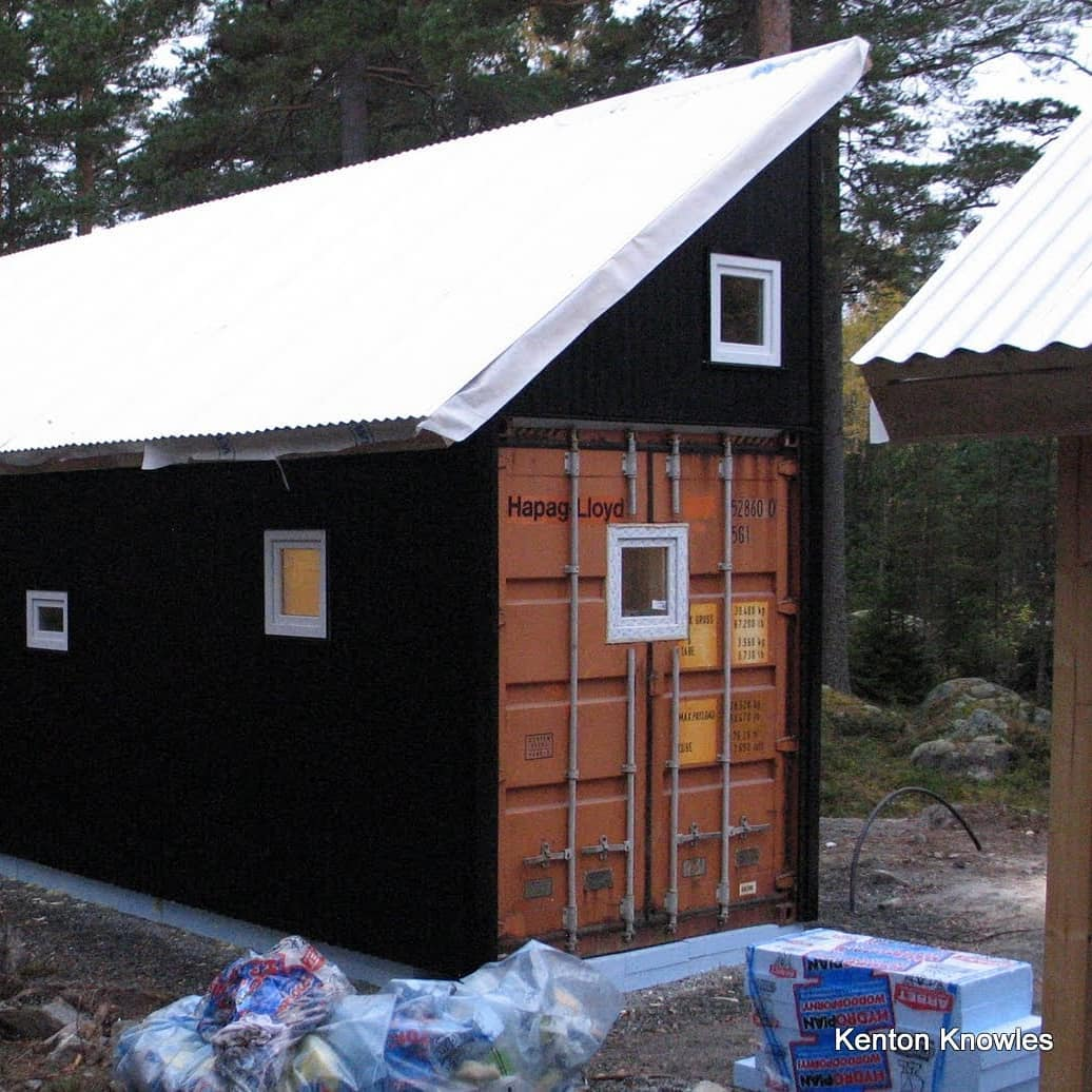 Swedens first container house? 2010 @kentonvknowles @gertwingardh