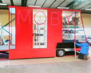 Moby store almost finished